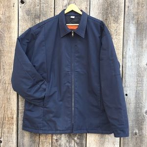 Classic Insulated Workwear Zip-up Jacket, XL-LN